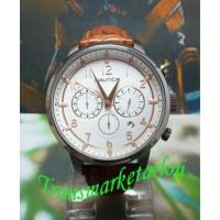 Hemat Jam Tangan Pria Nautica Nai16525G Silver Brown Original Garansi cdb95115be