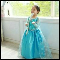 SALE Baju Dress/ Gaun Baju anak Frozen /gaun pesta/ Gaun barbie DISKON