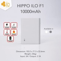 Ilo Power Bank F1 10000mAh Powerbank By Hippo