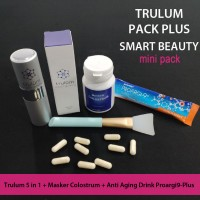 Paket Trulum Plus Synergy Dengan Minuman Awet Muda & Colostrum Mask