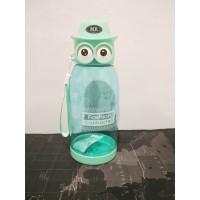 Botol Minum Anak Karakter Owl Bpa Free Botol Anak Burung Hantu B005