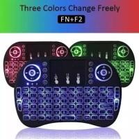 Mini Keyboard i8 Backlite 3Warna for Android Tv Box