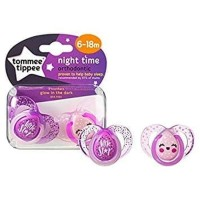 Tommee tippee Night time soother 6-18m twin