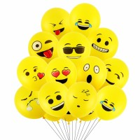 Balon Latex Emoji / Emoticon