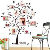 Stiker dinding dekorasi rumah Pohon Foto keluarga Family Link Photo