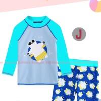 Baju Renang Anak Laki laki Be Poplar Biru