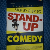 Buku Step by Step To Stand-Up Comedy by Greg Dean