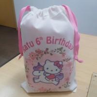 Tas / Pouch / Ransel / Backpack / Totebag Belacu Blacu - Hello Kitty