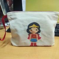 Tas / Pouch / Ransel / Tote Bag Belacu / Blacu - Superhero Wonderwoman