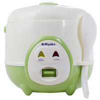 Miyako Magic Com 0.6 Liter 3in1 Kecil MCM606ABGS Rice Cooker Hijau