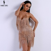 17782b7684f Missord 2018 Sexy V Neck Off Shoulder Cross Women Rompers Overalls