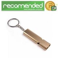 Gantungan Kunci Peluit Aluminium - Z6482 - Gold