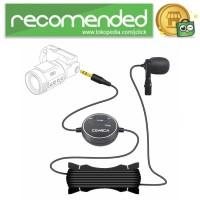 COMICA Microphone Condenser Lavalier GoPro Smartphone - CVM-V03S - Si