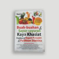 Buku Buah-buahan dan Sayur-sayuran Kaya Khasiat