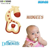 Dr Brown's Ridgees Massaging Teether Mainan Gigitan Bayi Browns