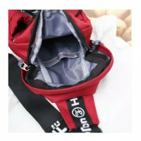Tas Selempang Waist Bag Unisex Unik Impor Wanita Pria Ready Stock