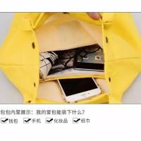 Tas Tote Bag Cocok Untuk Kuliah Kanvas Impor Murah Ready Stock