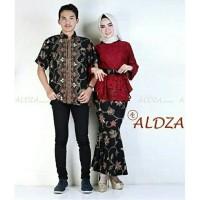 Baju Setelan Kebaya Batik Couple Aldza Murah
