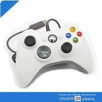 Stik Stick Xbox 360 Wired Kabel Putih