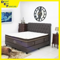Kasur Divine 200x200 full set - Dreamline Spring Bed