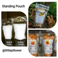 Standing Pouch PP klip uk.16x24/pouch plastik/plastik klip