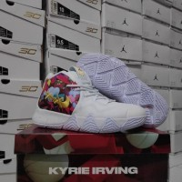 Sepatu Basket Nike Kyrie 4 'KAWS White'