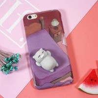 Case Squishy Cat Claw For Iphone 6 Plus / 6S Plus - Blue