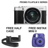 Harga fujifilm x a5 mirrorless digital camera with 15 45mm lens silver | Pembandingharga.com
