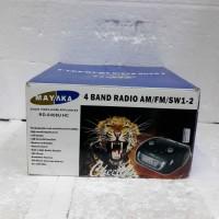 Harga mayaka audio rd 6408 uhc 4 band radio am fm sw 1   antitipu.com