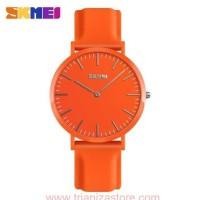 Jam Tangan WANITA /Couple Original SKMEI 9179 Simple Anti Air - Orange
