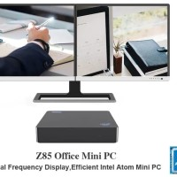 BEELINK Office Mini PC Z85 2/32GB Intel X5 Quadcore Z8350 Windows 10