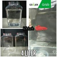 Toples Plastik Kotak Ikan Cupang 4Liter Kotak