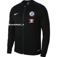 Jaket Club Chelsea Fc Autenthic Dri fit Nike Original Anthem