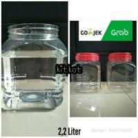Toples Kotak Buat Ikan Cupang,Permen Dll 2.2 Liter