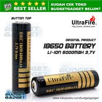 UltraFire Rechargeable Battery 18650 3.7V 6000mAh (Senter dll.)