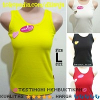 Singlet Tank Top Anak Size L 8-12 Tahun High Quality Basic Tanktop HQ