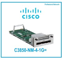 Cisco C3850-NM-4-1G= Cisco Catalyst 3850 4 x 1GE Network Module