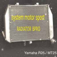 radiator racing yamaha r25 atau mt25. radiator bpro r25 atau mt25