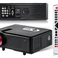 Proyektor CHEERLUX CL720 HD LED Portable 3000 Lumens TV Tuner
