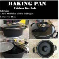 Baking Pan Teflon Anti Lengket Untuk Cetakan Kue Bolu Panggang an