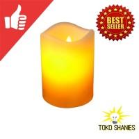 LED Lilin Tinggi 11cm Lilin Elektrik Dekorasi Lampu Lilin Unik Candle