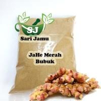 Harga promo jamu herbal tradisional jahe merah bubuk 500 gr asli dan | Pembandingharga.com