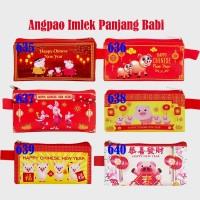 Angpao Imlek PANJANG Babi Dompet Pig Chinese New Year Envelope Sin Cia
