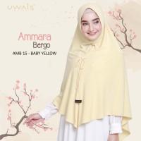Ammara Bergo Jilbab Instan Uwais Hijab Syari Kuning Baby Yellow