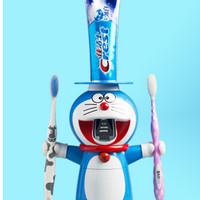 Dispenser Odol Toothpaste Tempat Sikat Pasta Gigi Gelas Mandi Doraemon