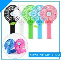 Kipas angin usb genggam gagang lipat / usb mini fan portable