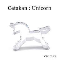 Cetakan Cutter Unicorn - Cetakan Kue Kering - Cetakan Nugget - Mold
