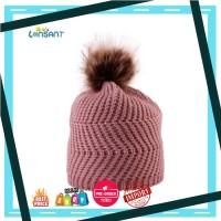 Harga lonsant bayi lucu topi pom anakanak topi musim dingin untuk | Pembandingharga.com