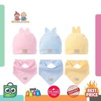 Harga 1 set topi dan syal untuk lahir topi katun lucu bayi syal anak | Pembandingharga.com