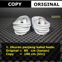 [ORIGINAL100%] 80cm Putih Kabel Data Xiaomi Original Redmi 4 4X Note 4
